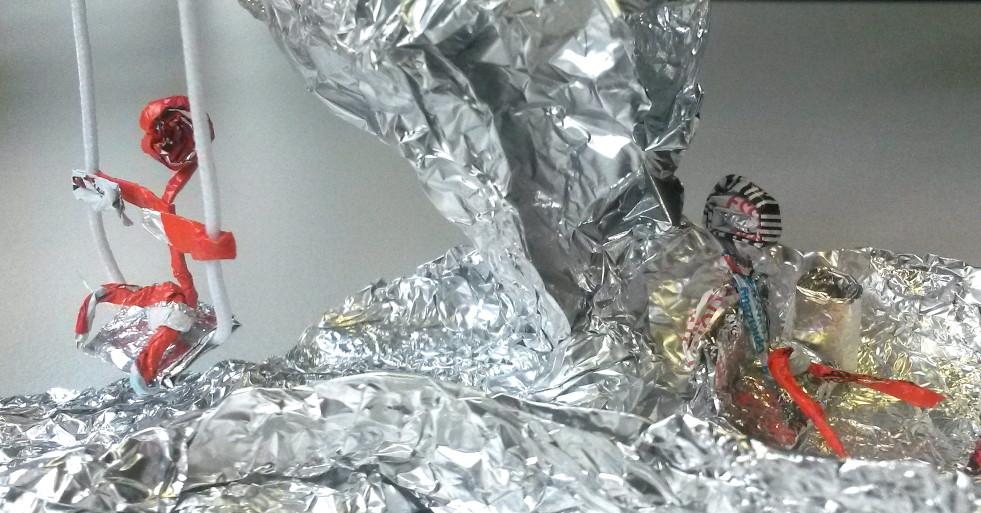 Universum aus Aluminium