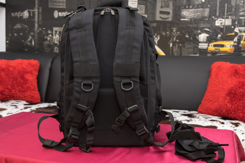 K&F Kamera-Rucksack Rückseite