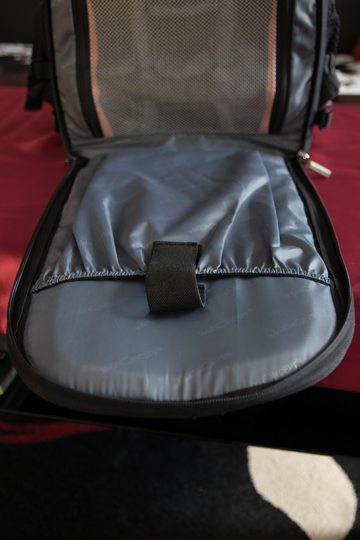 K&F Kamera-Rucksack Fächer Rückseite